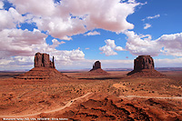 Monument Valley - The Mittens and Merrick's Butte